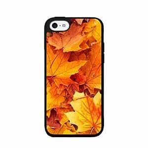 Autumn Leaves - Phone Case Back Cover (iPhone 5c Black - Plastic)