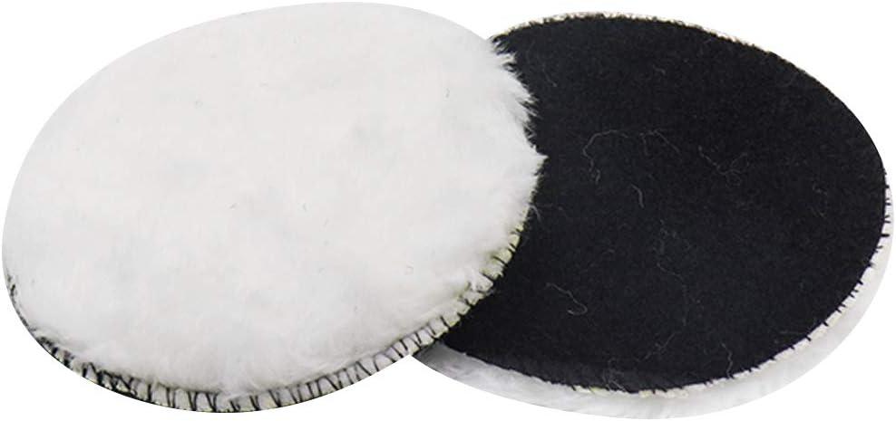 ZXHAO 4 Wool Polishing Pad Car Detailing Polishing Backing Buffer 4pcs