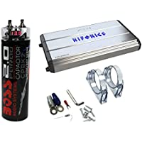Hifonics Zeus 3200W Max Class D Monoblock Car Amplifier + Boss 20V Car Capacitor