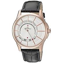 Lucien Piccard Men's LP-40024-RG-02S Vertigo Analog Display Quartz Black Watch