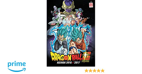 Agenda scolaire 2016/2017 Dragon Ball Super KAZ.COLLECTION ...