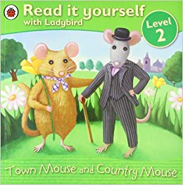 Ladybird Book Read It Yourself Level 2 Town Mouse And Country Mouse