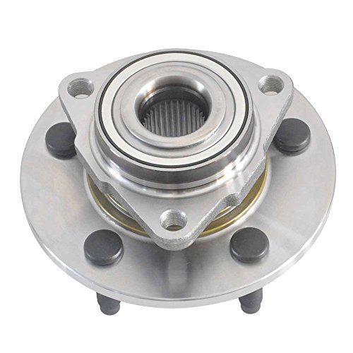 CRS NT515072 New Wheel Bearing Hub Assembly, Front Left (Driver)/ Right (Passenger), for 2002- 2008 Dodge Ram 1500, 2WD/ 4WD, W/O Wheel ()