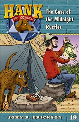 book cover of The Case of the Midnight Rustler