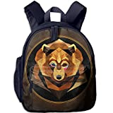 Funny Sunshine Bear Printed Children's Shoulder Bag Shoulder Daypack