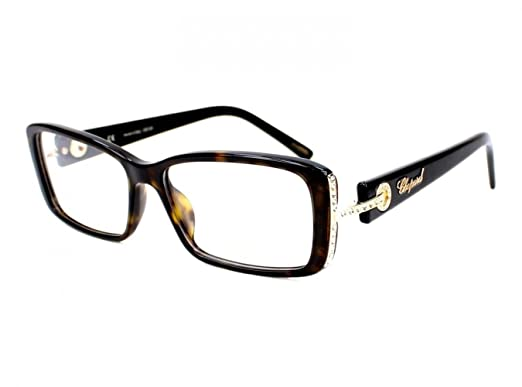 Chopard - VCH 118S, Geometric, acetate, women, DARK HAVANA STRASS(0722 E), 54/15/135