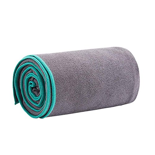 Price comparison product image Republe Microfiber Yoga Towel Moisture Wicking Yoga Mat Cover for Hot Yoga Pilates Sports