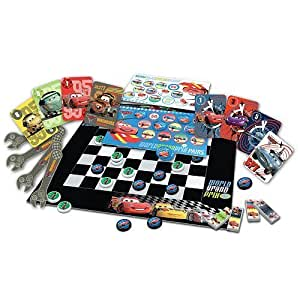 disney pixar cars 2 mille bornes a classic race card game toys games. Black Bedroom Furniture Sets. Home Design Ideas