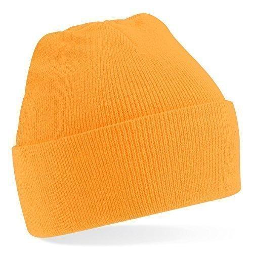 Colores de Tejer Gorro Naranja de talla gorro invierno Shirtinstyle de Unisex Amarillo Talla lana gorro mucho Flúor única moda xfwOqgwB8n