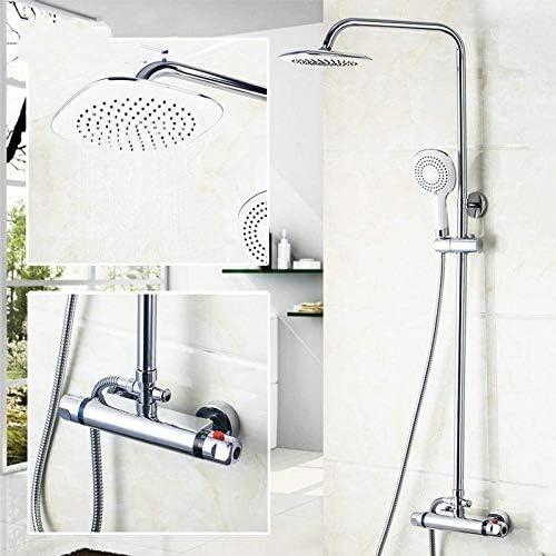 WXQ-XQ ラウンドバスミキサーサーモスタット8インチのシャワーヘッドバスタブ蛇口シャワーの蛇口ミキサータップ