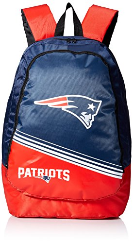FOCO New England Patriots 2015 Stripe Core Backpack (Nba Jersey Backpack)