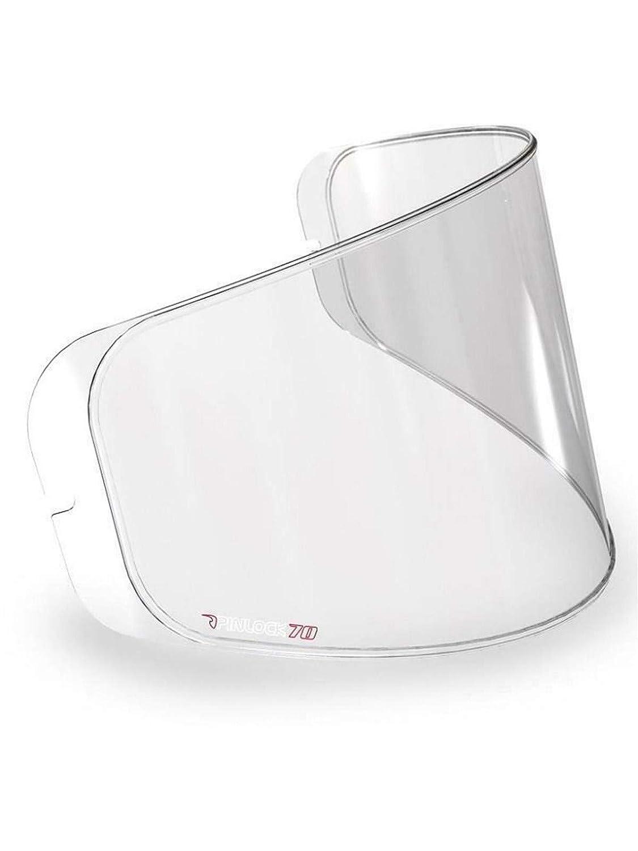 Pinlock Max Vision Motorradhelm Visierlinse One Size, Farblos Vemar Clear Sharki-Zephir