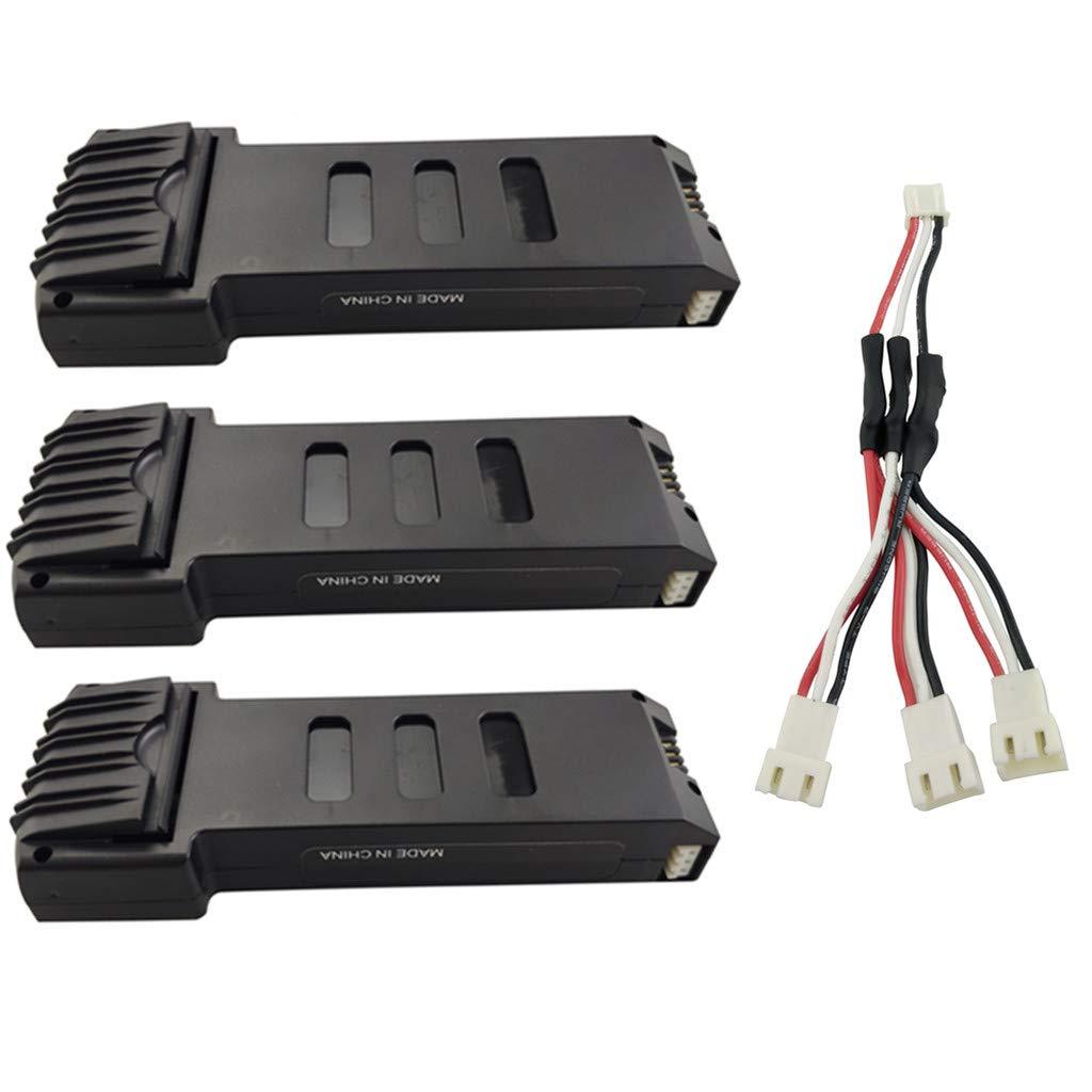 Baterias Lipo (3) 7.4v 1200mah Rc Para Drone E511 E511s