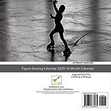 Figure Skating Calendar 2020: 16 Month Calendar