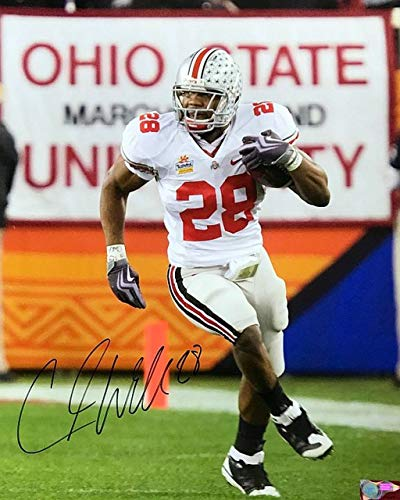 - Chris Beanie Wells OSU 16-6 16x20 Autographed Signed Photo - Certified Authentic