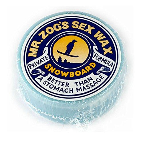 Sex Wax SNOWBOARD WAX MILD BLUE Mr. Zogs