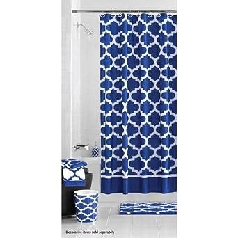 Mainstays Fretwork Sophisticated U0026 Elegant Shower Curtain Design Ideas
