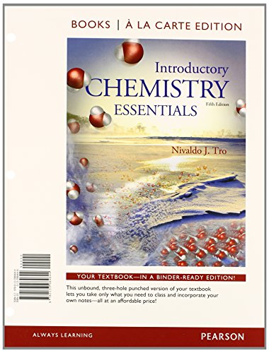 Download Introductory Chemistry Essentials, Books a la Carte