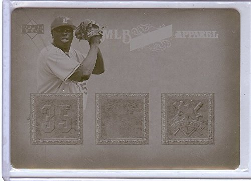 Dontrelle Willis 2006 UD Artifacts Yellow Printing Plate Marlins #MLB-DW - Marlin Plate