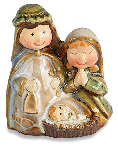 Childlike Adoring Nativity Figurine, Porcelain, 2-1/2'' H, 12 pack by AT001