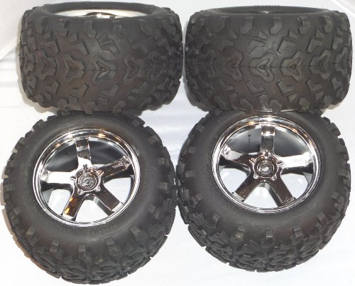 Traxxas Tmaxx 3.3 Tires and Wheels Hurricane type 6.3