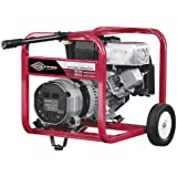 Briggs & Stratton Elite Series 1653 4,550 Watt 6.5 HP OHV Gas Powered Portable Generator With Wheel Kit