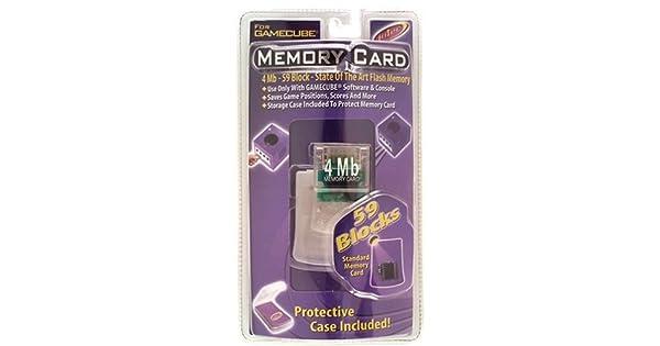 Amazon.com: Intec 4 MB tarjeta de memoria para gamecube ...