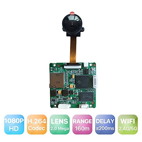 RAKWireless RAK5270 Full HD 1080P 5.8G WiFi Camera Hi3516C Module, Wireless Drone Camera Accessories, Hisilicon Camera Module/Board by RAKWireless