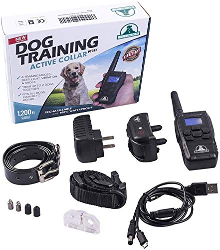 Pet Union PT0Z1 Waterproof Training Collar for Dogs