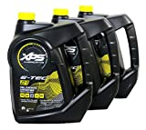 Sea-Doo/Ski-Doo XPS 2 Stroke Synthetic Oil Gallon 3 Pack