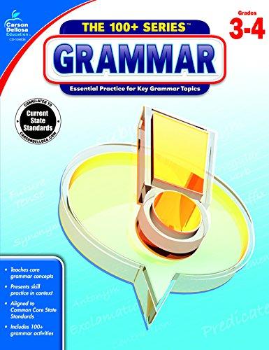 (Carson-Dellosa The 100+ Series Grammar Workbook, Grades)