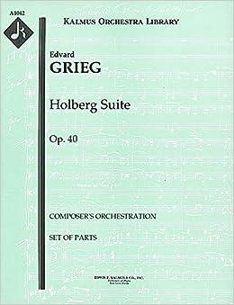 Holberg Suite Op.40 Study score
