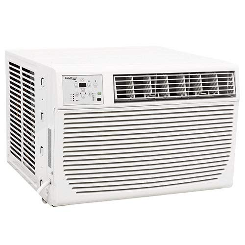 Koldfront WAC12001W 12,000 BTU 208/230V Heat/Cool Window Air Conditioner - Seal Heater Air