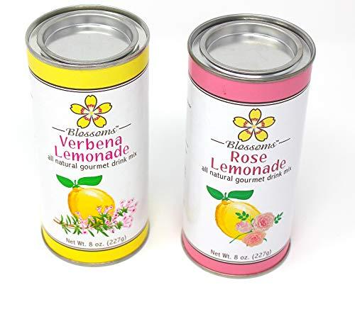 Verbena Blossom - Blossoms Rose and Verbena Gourmet Lemonade Mix. (2) 8 oz