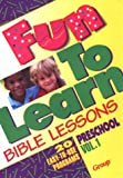 img - for Fun-To-Learn Bible Lessons: Preschool by Nancy Paulson (1993-12-02) book / textbook / text book