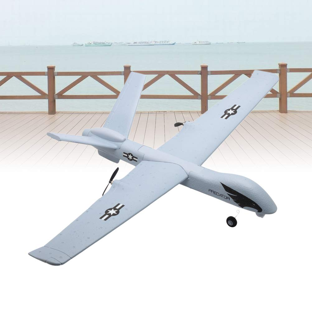 Toyvian DIY EPP Foam Remote Control Aircraft Model Throwing Flying Glider Plane for Kids by Toyvian (Image #9)