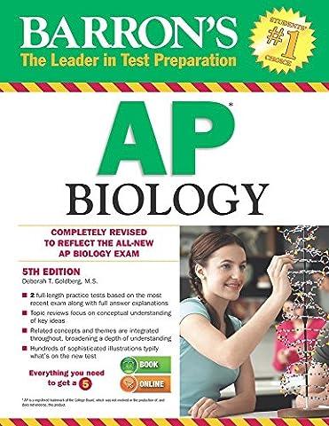 Barron's AP Biology, 5th Edition (Ap Biology Barrons 5th)