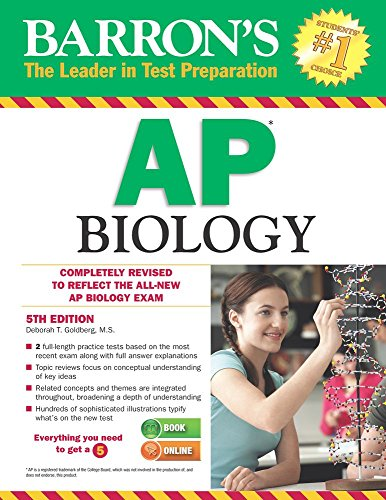 Barron's AP Biology, 5th Edition cover