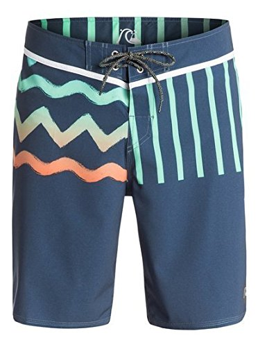 Quiksilver Men's 19 inch Boardshort, Ghetto Remix Dark Denim, 31