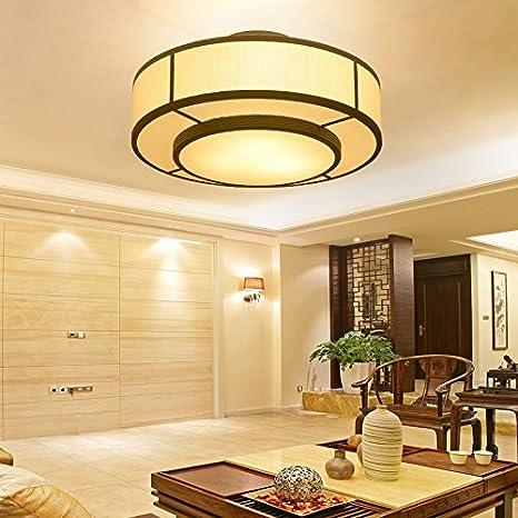 JJ LED moderno Chino nueva lámpara de techo lámpara de techo ...