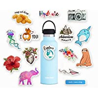Waterbottle Stickers Pack - 15 Stickers for Chromebooks, Trendy & Artsy Stickers for Backpack, Ipad, iPhone, Made in USA