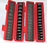 New Hand Tools 25 Pc. 3/8