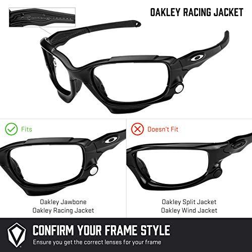 Jacket Oakley — Bolt Repuesto Fit Opciones Mirrorshield Racing Polarizados Múltiples Dorado Lentes De Asian Para nSxfnXH8