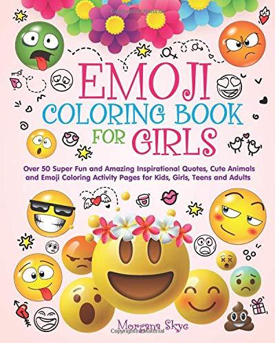Amazon.com: Emoji Coloring Book for Girls: 50 Super Fun and ...
