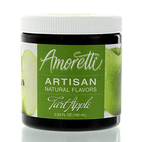 Amoretti Natural Artisan Flavor Apple Tart, 5.53 Fluid Ounce by Amoretti