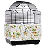 Bonaweite Bird Cage Skirt with adjustable Draw string Seed Catcher,118''