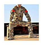 Camouflage Clothes Set Men Tactical Combat Suit Paintball Airsoft Camo Military Uniform Clothing