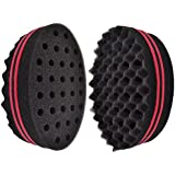 New Double Side Two in One Magic Twist Hair Sponge Brush for Twists/Coils/Dreads
