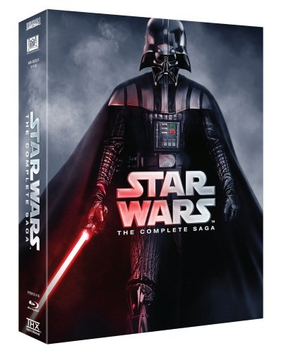 Star Wars - Complete Saga (6 Films) - 9-Disc Box Set ( Star Wars: Episode I - The Phantom Menace / Star Wars: Episode II - Attack of the Clones / Star Wars: Epis [ Blu-Ray, Reg.A/B/C Import - Sweden ]