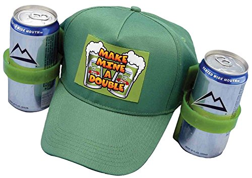 Forum Novelties St. Patrick's Day Drinking Helmet, Green